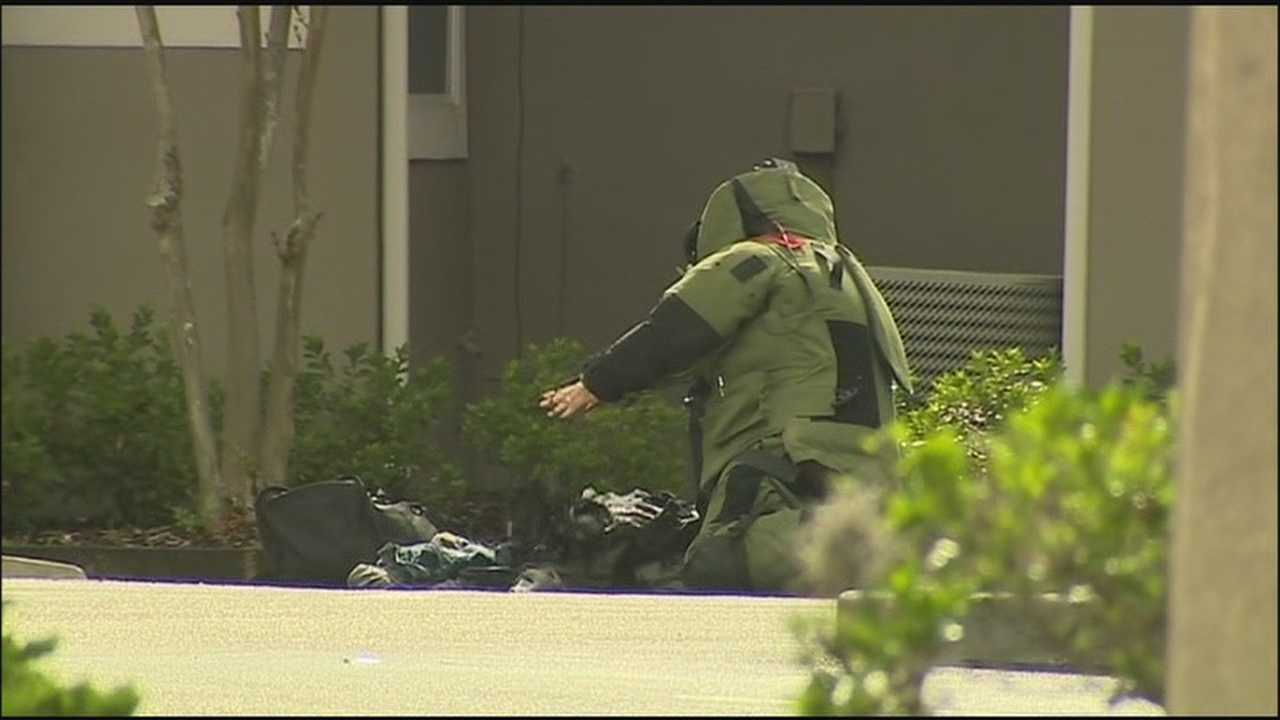Winter Park police investigated a suspicious device Monday morning.