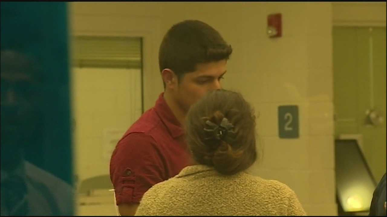 A 20-year-old accused in a deadly DUI crash bonded out of jail with a message to the victim's family.