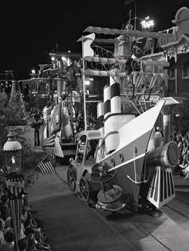 The parade was performed 668 times at Magic Kingdom Park and marked the first time the Magic Kingdom and Disneyland worked jointly on a production that would appear simultaneously in both parks.