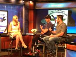 The Wounded Warrior Amputee Softball Team will be playing at Champion Stadium at ESPN's Wide World of Sports on Friday.