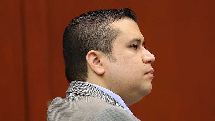 George Zimmerman listens to a prospective juror in Seminole circuit court on the 3rd day of his trial, in Sanford, Fla., Wednesday, June 12, 2013. Zimmerman is accused in the fatal shooting of Trayvon Martin. (Joe Burbank/Orlando Sentinel)