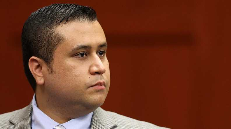 George Zimmerman in Seminole circuit court on the 3rd day of his trial, in Sanford, Fla., Wednesday, June 12, 2013. Zimmerman is accused in the fatal shooting of Trayvon Martin. (Joe Burbank/Orlando Sentinel/POOL)