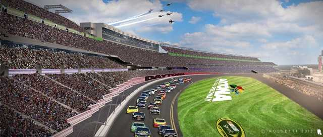 "They call it ""Daytona Rising"" a roughly $400 million investment to overhaul the historic Daytona International Speedway."