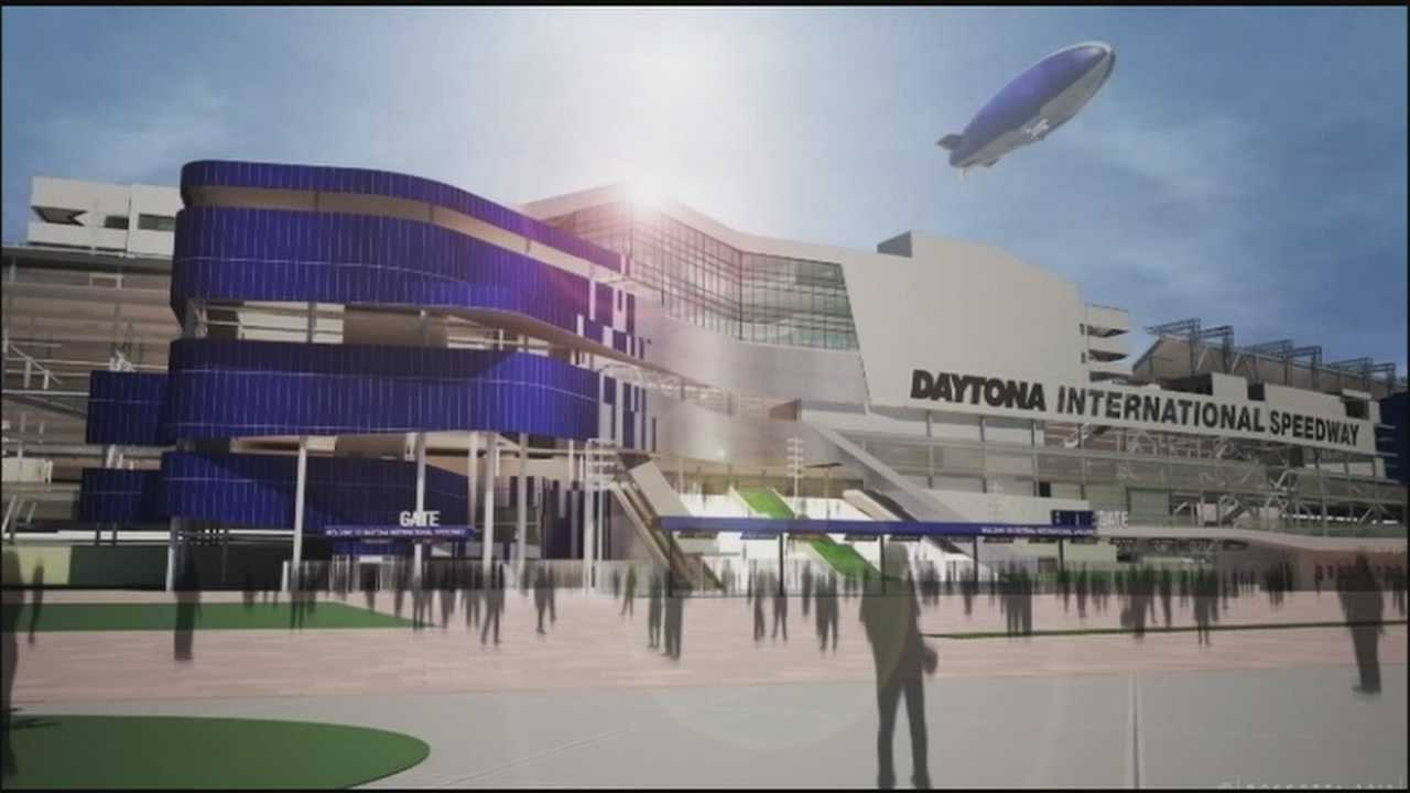 Daytona Beach's famous speedway will undergo major renovations.