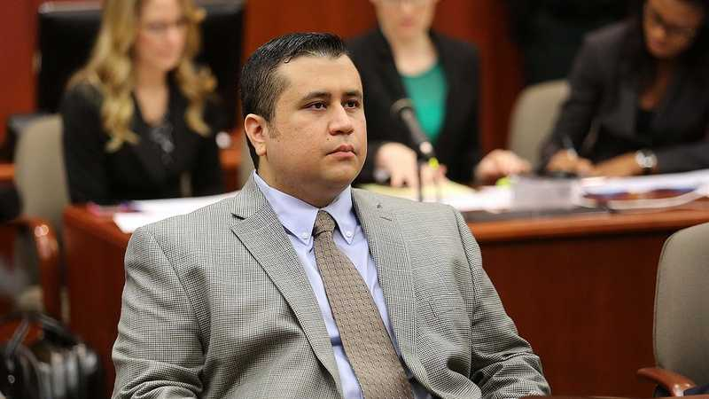 George Zimmerman waits for court to start on the 8th day of his trial, in Sanford, Fla., Wednesday, June 19, 2013. Zimmerman is accused in the fatal shooting of Trayvon Martin. (Joe Burbank/Orlando Sentinel)