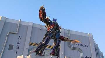 After months of previews and a few soft openings, the new Transformers: The Ride 3-D at Universal Orlando opens on Thursday.
