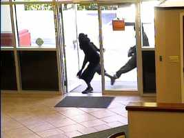 Three armed and masked men entered the PNC Bank on Dunlawton Avenue shortly after 9 a.m. Thursday.