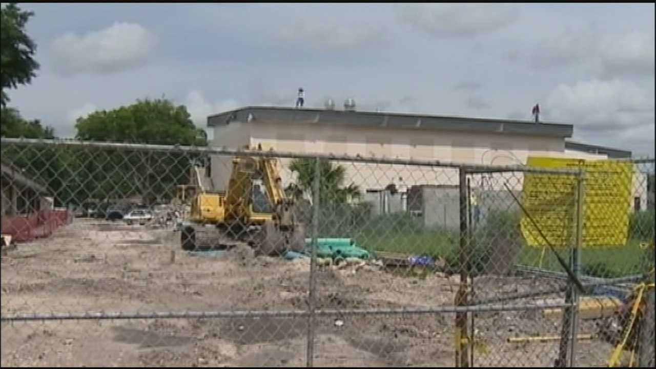 Twice in one week's time, thieves stole metal from the site of a new homeless center for men.