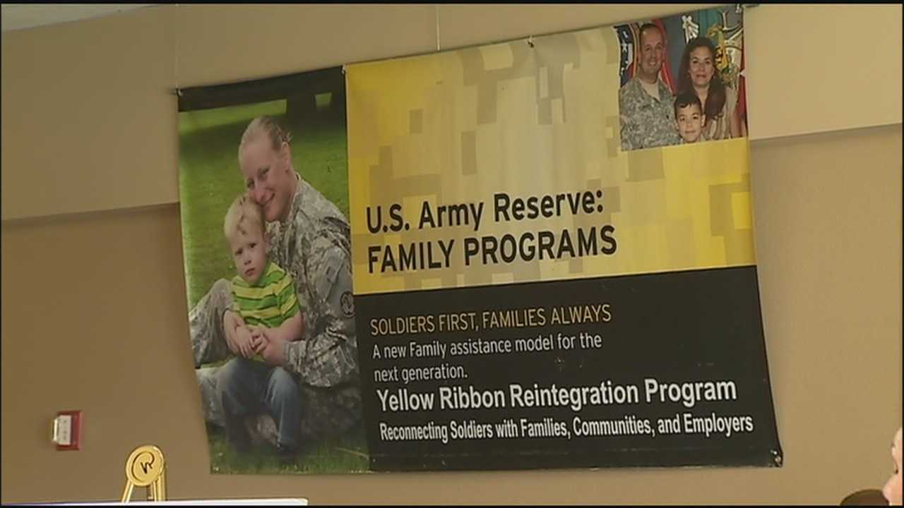 Hundreds of recently deployed Army reservists are visiting Orlando over the weekend for a chance to get some rest and relaxation and be connected with some much needed help for adjusting to life after war.