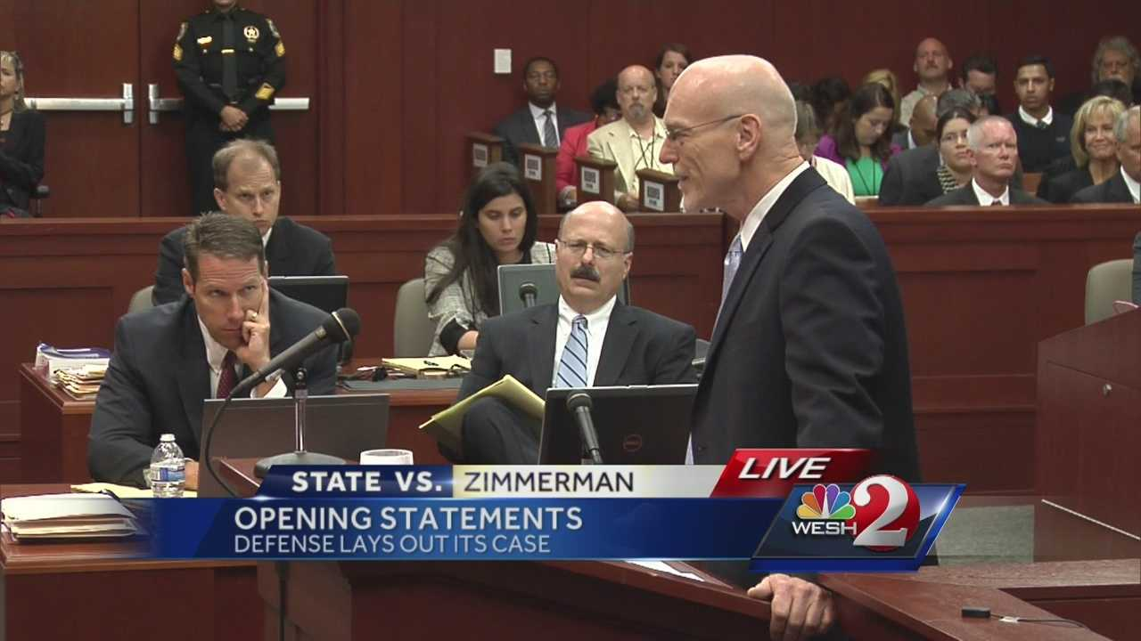 "Defense attorney Don West's ""knock knock"" joke didn't get much of a reaction from the jury during his opening statement in the George Zimmerman murder trial."
