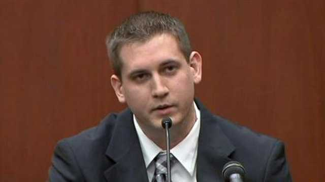 Sean Noffke is the 911 dispatcher that spoke with George Zimmerman on the night of the shooting.