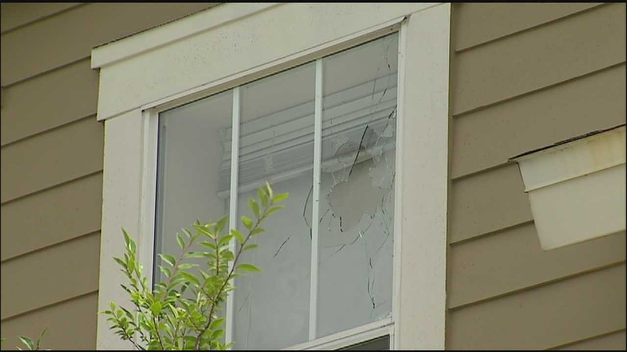 Woman thankful family wasn't hurt by gunfire