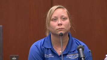 Diane Smith is a crime scene technician.