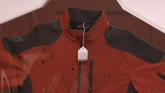 George Zimmerman's jacket.