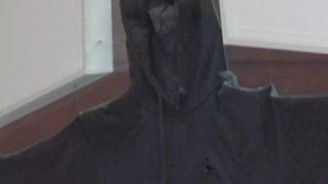 Trayvon Martin's sweatshirt.