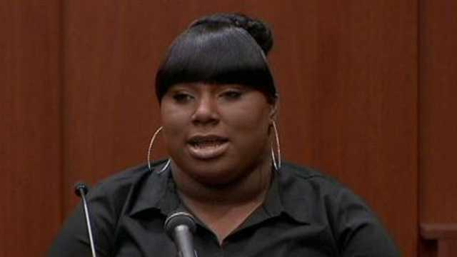 Rachel Jeantel is the friend who was speaking with Trayvon Martin by phone moments before he was shot.