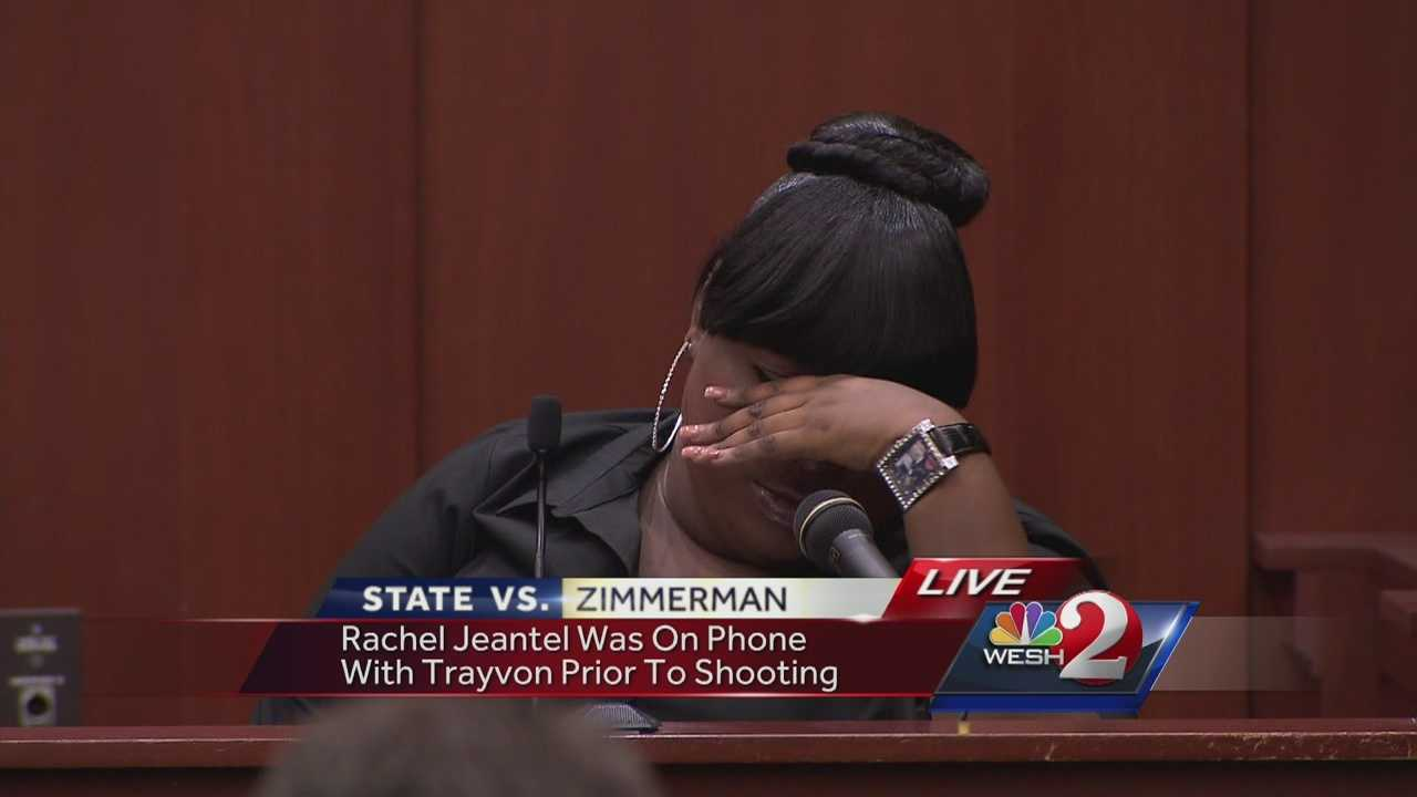 George Zimmerman's defense team tried to damage the credibility of a former friend of Trayvon Martin who was on the phone with him moments for his death. During a long line of questioning, Rachel Jeantel fired back at defense attorney Don West saying she didn't want to come back to court tomorrow.