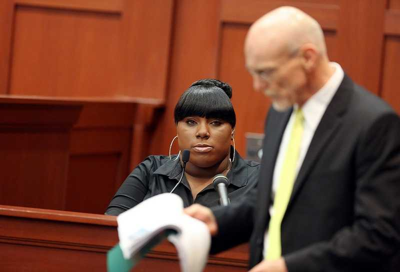 """3. Jeantel: I'm leaving todayJeantel said in court that she didn't want to come back to court Thursday. When defense attorney Don West said his questioning would last a couple more hours, she said, """"What?"""" She'll be back Thursday at 9 a.m."""