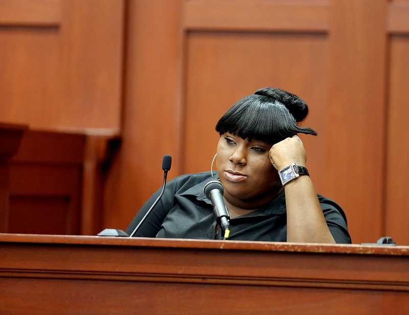 "2. Jeantel (Witness 8) says she didn't take her deposition with Martin family attorney Benjamin Crump seriouslyJeantel said she rushed through a deposition by Martin family attorney Benjamin Crump, which was later played in parts on national television. ""It doesn't mean nothing to me,"" she said of the deposition."