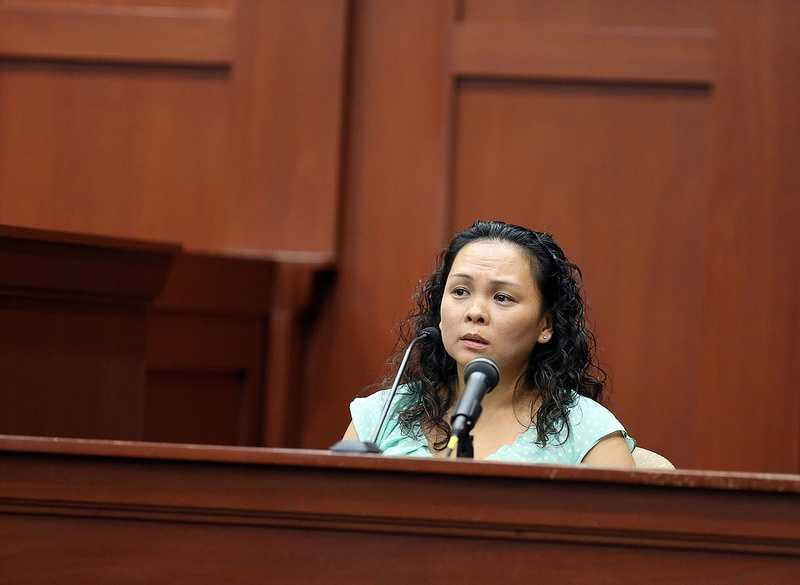 6. Who was on top during the struggle?Witness Jeannee Manalo said she believes she saw Zimmerman on top of Martin during the struggle because she saw a larger person on top. It was later revealed through questioning that she was basing her size comparison on a current picture of Zimmerman and a years-old picture of Marti.