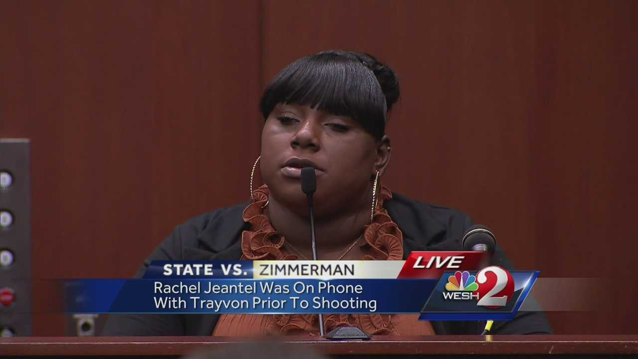 "After Trayvon Martin's friend, Rachel Jeantel, and George Zimmerman defense attorney, Don West, went back and forth for hours, Jeantel got into a rhythm of answering ""yes, sir"" and ""no, sir"" to every question.   Until this response."