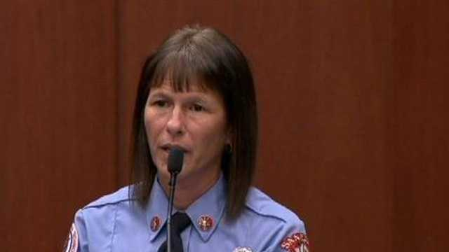 Stacy Livingston is a paramedic who treated George Zimmerman for lacerations.