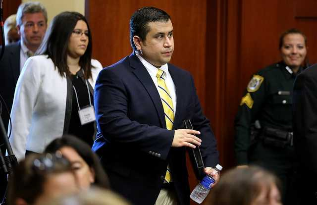 "2. 'Just tell her I shot someone'Jonathan Manalo said he heard the shooting, grabbed a flashlight and walked outside, where he talked to Zimmerman. Zimmerman asked Manalo to call his wife. ""I said, 'Your husband has been involved in a shooting. He is being handcuffed and will be held for questioning,'"" Manalo said. But Manalo said Zimmerman cut him off mid-conversation and said, ""Just tell her I shot someone."""