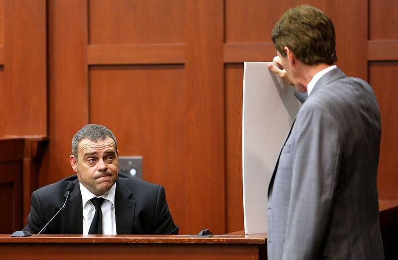 """5. Investigators challenge Zimmerman's storyIn a 45-minute interview, investigators Singleton and Serino challenged Zimmerman's story and the actions he took the night of the shooting. Why didn't he identify himself to Martin as being with neighborhood watch? Why did he get out of his vehicle if he """"feared"""" Martin? At what point in the 911 call was Martin bashing his head into the concrete or smothering his face? Couldn't Martin have been """"creeped out"""" by the man following him?"""