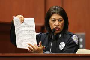 2. Investigators: No significant changes in Zimmerman's storyTwo investigators, Doris Singleton and lead investigator Chris Serino, testified that there were no significant changes in Zimmerman's statements to police. But there were inconsistencies. He told police he was not following Martin, but was instead looking for a street sign to tell police. He later admitted that he was walking in the same direction as Martin. There were also differences in how Zimmerman recounted the exchange between him and Martin before he says Martin punched him in the face.