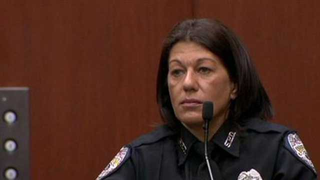 Doris Singleton is a Sanford police officer who interviewed George Zimmerman at the police headquarters after the deadly shooting of Trayvon Martin.