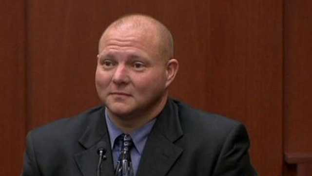 "Mark Osterman is a friend of George Zimmerman. He said Zimmerman is the ""best friend I ever had."""