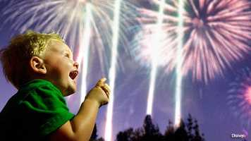 Independence Week at Disney: Huge fireworks shows and celebrations are scheduled all week at Walt Disney World. Park admission is $95 adults and $89 ages 3-9.