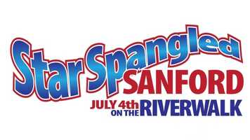 Star Spangled Sanford: Sanford's Riverwalk will host a celebration full of food, drinks, music and a huge fireworks display. It runs 5 p.m. until 10 p.m.