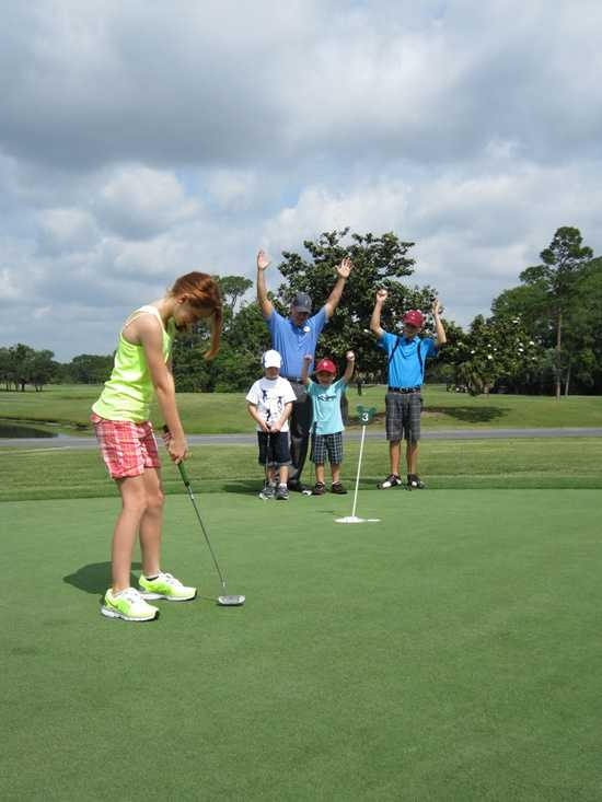 Parents who want to keep their children busy this summer can send them to a junior golf camp at Walt Disney World.
