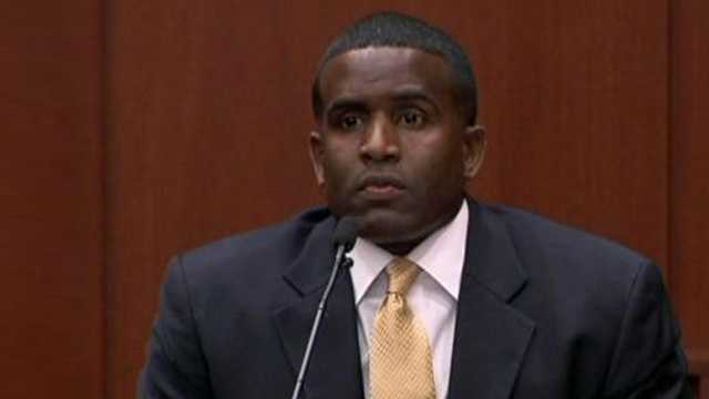 Capt. Alexis Carter of the United States Army is a military prosecutor. He taught at a class at Seminole State College.