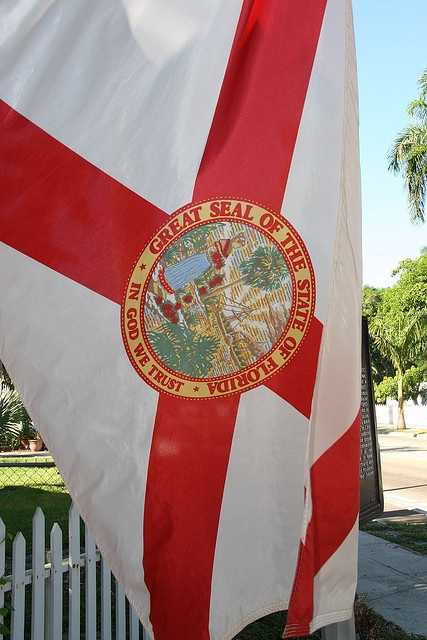 CHAPTER 2013-165: The governor is required to adopt a protocol on proper display for the state flag. It must provide guidelines for the proper display of the state flag and for the lowering of the state flag to half-staff on appropriate occasions, such as on holidays and upon the death of high-ranking state officials, uniformed law enforcement and fire service personnel, and prominent citizens.