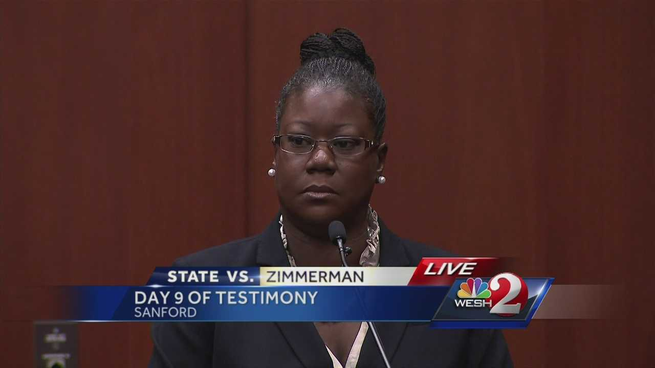 Trayvon Martin's mother, Sybrina Fulton, says it was her son's voice heard screaming in the background of a 911 call.