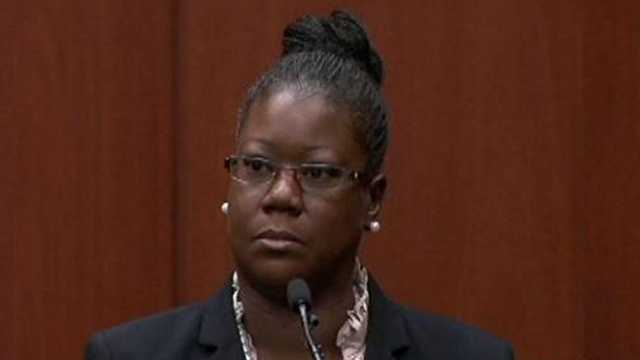 Sybrina Fulton is Trayvon Martin's mother.