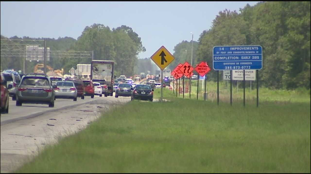 Officials say a stretch of Interstate 4 has become too dangerous for its current speed limit because of an expansion project.