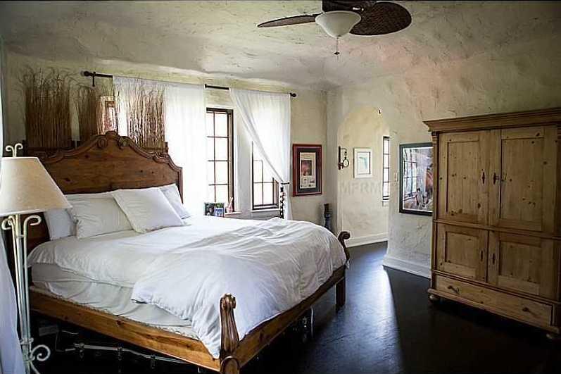 It may feel like you're in a bed and breakfast, but you're just in the second bedroom. Each room has its own personality.