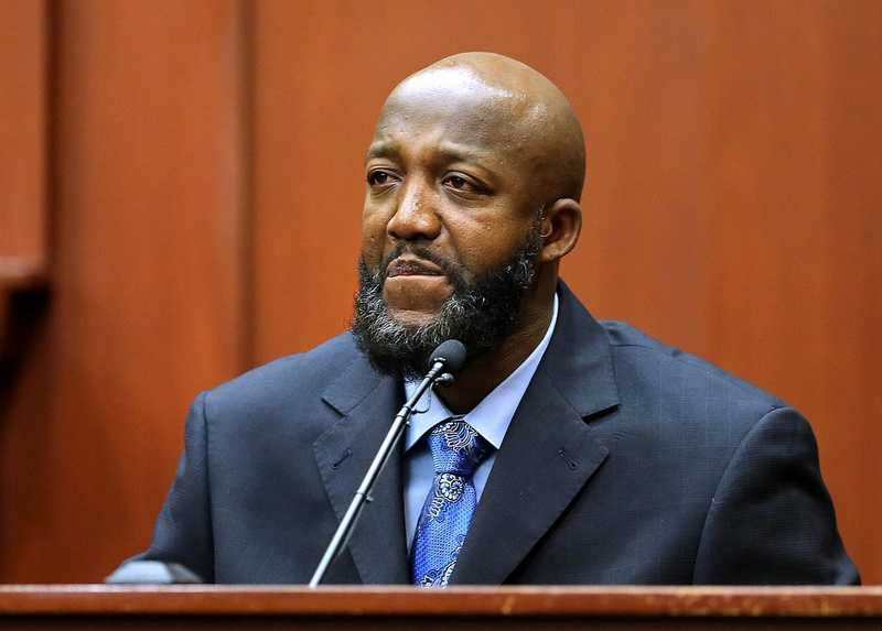 "3. Police: Tracy Martin said it wasn't Trayvon's voiceAccording to two police investigators, Trayvon Martin's father, Tracy Martin, originally said it was not his son's voice screaming on the call. Martin was called to the stand and disputed that. ""I think my words were, 'I can't tell,'"" said Martin. Tracy Martin later said it was his son's voice."