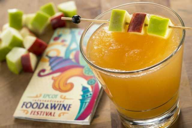An apple pie-inspired Frozen Szarlotka will be available at the Poland Marketplace this year.  The drink is made with Zubrowka, a popular Polish Bison Grass Vodka, and apple cider.