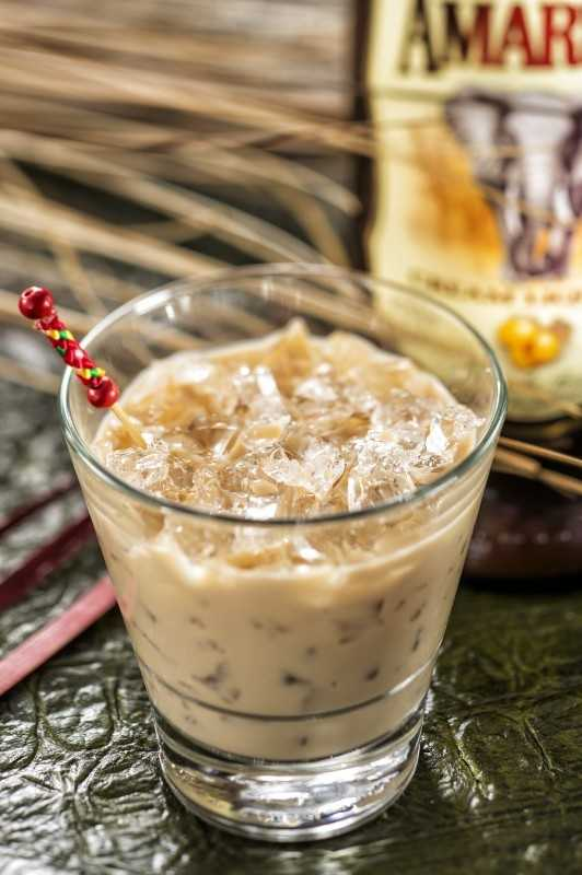 Available at the Africa Marketplace, a creamy Brown Elephant cocktail, made with Amarula crream liqueur, milk and Coca Cola, is on the menu.