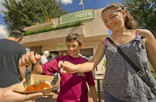 The Terra Marketplace returns to the 18th annual Epcot International Food and Wine Festival.