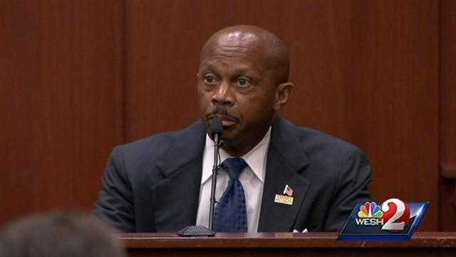 6. Sanford's city manager takes the standSanford city manager Norton Bonaparte took the stand for a short time Tuesday. Bonaparte testified about playing the 911 call for Martin's family, which captured screams before the fatal shot. He said the calls were played for the family without law enforcement present as a courtesy, before they were set to be released to the media and public.