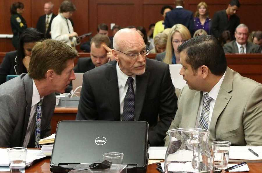 7. Was Zimmerman witness in the courtroom during testimony?Attorneys will be in the courtroom at 8 a.m. Wednesday to discuss reports that defense witness John Donnelly was inside the courtroom during testimony, which is a violation of witness sequestration. The picture above appears to show him above Zimmerman's left shoulder on June 25.
