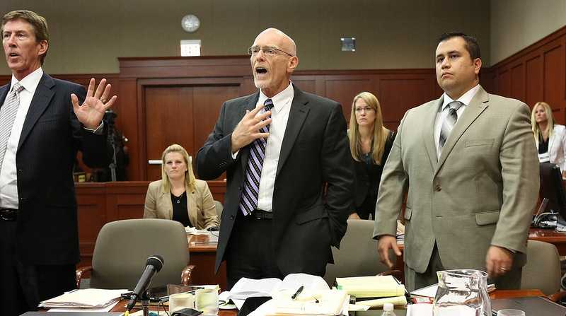 9. Judge walks outJudge Debra Nelson walked out of the courtroom Tuesday night as Mark O'Mara questioned her 8 a.m. Wednesday start time and Don West said he couldn't keep up with the pace of the trial much longer.