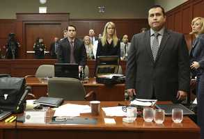 1. Defense rests&#x3B; George Zimmerman did not testifyGeorge Zimmerman told Judge Debra Nelson he would not testify in his trial. His decision came after a tense exchange between Nelson and Zimmerman's attorney Don West. West objected several times as Nelson questioned Zimmerman about his decision. The defense then rested its case.