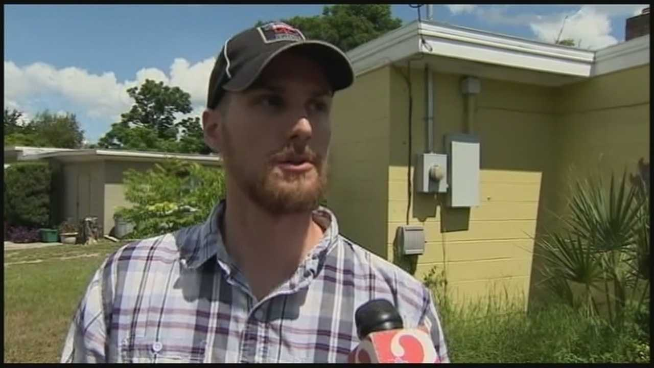 A military veteran who is a strong believer in gun ownership says he waded into a carjacking in Orlando without hesitation.