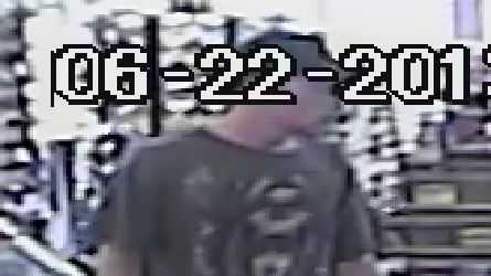 Authorities in Marion County are looking for a man they said tricked a clerk and stole $1,250.